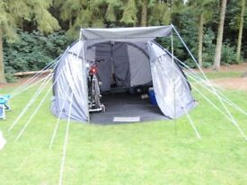 Complete Family Camping Kit, only used 3 times, 6 person tent and lots of accessories, sold as 1 lot