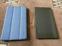Nexus 7 (2013) 32GB with flip case