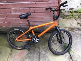 GT Zone BMX bike orange