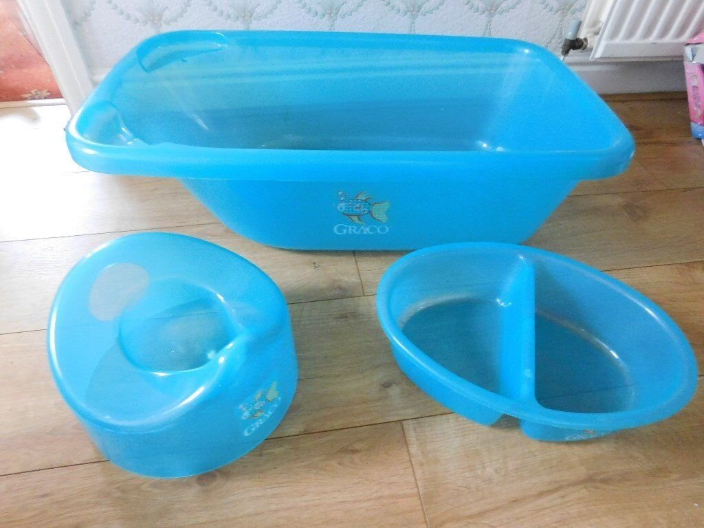 Graco baby bath, top and tail bowl and potty | in Sheffield, South ...