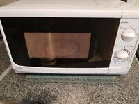 White Microwave