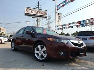 2009 Acura TSX Premium/One Owner/No Accidents/Indoor Showroom/On