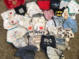 32 baby bibs mostly brand new