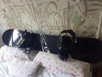 screw snowboard 160cm