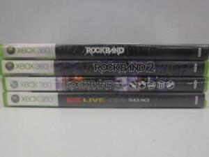 Rock Band Game Bundle (1,2,3 & AC/DC) - We Buy and Sell Video Games at Cash Pawn - 115488 - AT22405