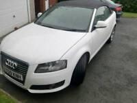 Audi A3 convertible 1.6 diesel £30 tax