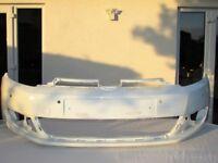 Genuine Vw golf MK6 front bumper in white 2008-2013