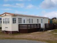 Caravan at silversands Lossiemouth