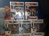 Various Funko Pop! Figures: Brand New