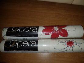Opera Arthouse Wallpaper - Anouska Red