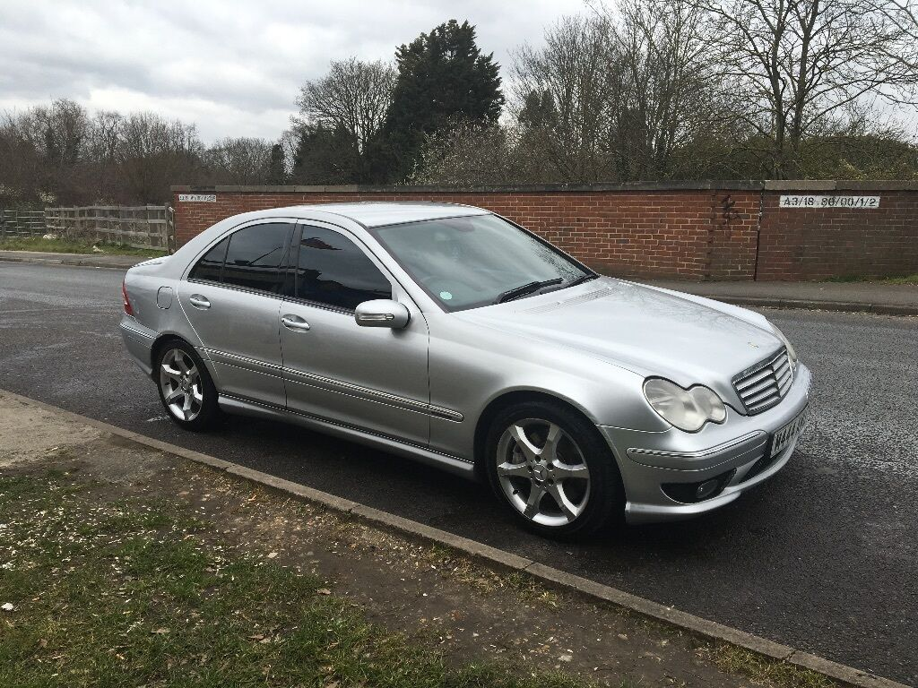 mercedes c320 cdi sport silver 2006 56 in raynes park london gumtree. Black Bedroom Furniture Sets. Home Design Ideas