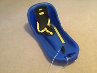 EDA baby luge baby/toddler sledge. For age 6 months to around 2 years. RRP £49