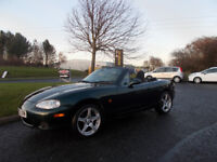 MAZDA MX-5 ROADSTER SPORTS CONVERTIBLE 2003 ONLY 94K MILES NEW SHAPE BARGAIN £950 *LOOK* PX/DELIVERY