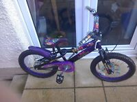 18inc girls bike