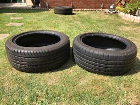 205/45 ZR16 Tyres x2