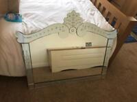 Beautiful Art Deco NEXT wall mantle dressing table hall mirror stunning