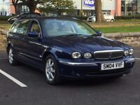 2004 JAGUARY X TYPE ESTATE 2,0 DIESEL * MANUAL * LEATHER * LONG MOT * PART EX WELCOME * DELIVERY