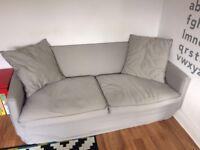 *free Ikea small grey sofa for quick pick up