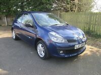 beautiful renault clio 1.2 .full renault service history.lady owner.