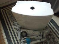 White Porcelain Cistern