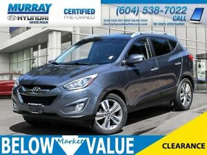 2015 Hyundai Tucson Limited**LEATHER**NAVI**REAR CAMERA**