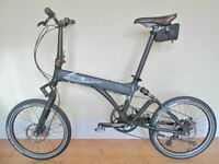 Stunning Dahon Full Suspension Folding Bike With Disc Brakes & Accessories