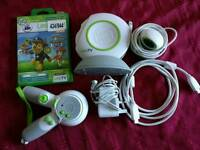 Leap frog TV games console with paw patrol game