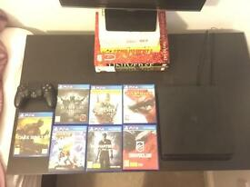 PS4 1TB impeccable condition with 7 games £300