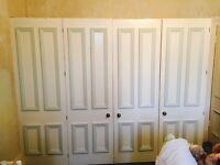 Wardrobe doors free for uplift