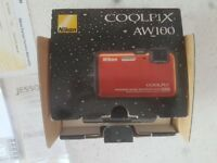 Nikon coolpix aw100 waterproof camera