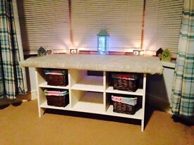 **REDUCED** Upcycled Coffee table/bench seat/storage bench