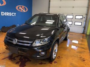 2015 Volkswagen Tiguan Highline R-Line!  4MOTION/ HEATED & PO...