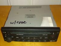 CDR 500 Car radio/CD player