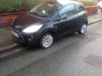 2010 59reg Ford Ka 1.3 Tdci Black Zetec Low Insurance Cheapest New Shape