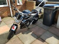 Wk Sp 125N for sale with new M.O.T