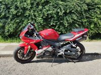 Amazing Yamaha R6 Red 2005