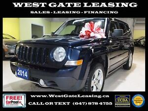 2014 Jeep Patriot LIMITED 4X4 | LEATHER |