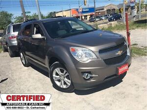 2010 Chevrolet Equinox 2LT w/ AWD,HTD LEATHER, ROOF, REVERS CAM