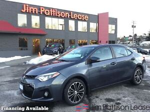 2014 Toyota Corolla S w/leather, navigation, roof