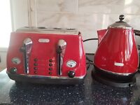 Delonghi kettle&toaster
