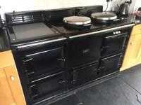 Gorgeous Black 4 oven gas AGA