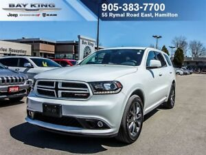 2017 Dodge Durango 4X4, GT, REMOTE START, HEATED SEATS, BLUETOOT
