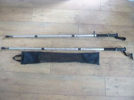 Nordic style walking sticks
