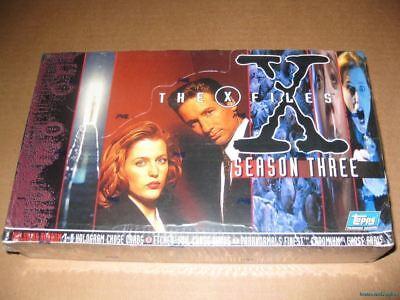 X-Files Season 3 Trading Card Hobby Box X-files Trading Card