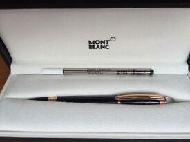 Mont Blanc StarWalker Red Gold Resin Fineliner/Rollerball pen, complete