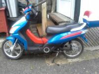 E-BIKE 2009 ECOPED (RED WHITE AND BLUE)