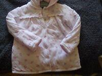 pink floral lightweight jacket ,age 18 24 months
