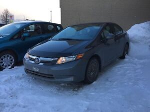 2012 Honda Berline Civic LX 49$/sem