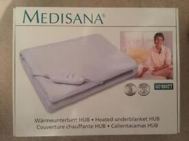 Medisana HUB Heated Underblanket, BNIB, Winter, Warm, Snuggly