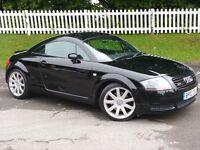 2002 (02) Audi TT 1.8 T Quattro l 225 BHP |12 MONTHS MOT | F.S.H |NEW CLUTCH + CAMBELT + WATERPUMP,